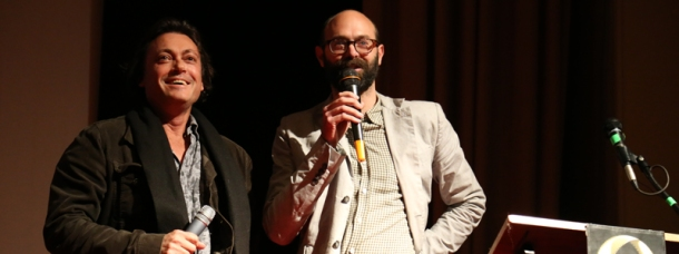 Kim Mordaunt & Ben Ferris in conversation at the Keynote Address of the 20th Sydney Film School Festival
